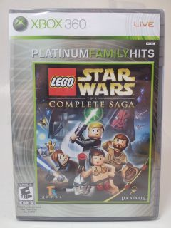 NEW XBOX 360 LEGO STAR WARS THE COMPLETE SAGA Region Free English Star