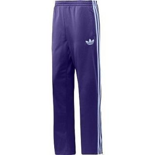 New Purple Adidas Originals Firebird Track Mens Pants Size S, M, L