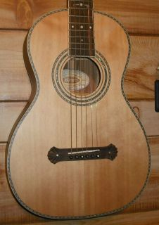 Antique Washburn Guitar Restored Brazillian RW Parlor Acoustic Vintage