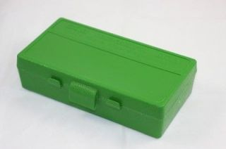 MTM Case Gard Plastic Ammo Storage Box 9mm / 380   50 Round P50 9M 10