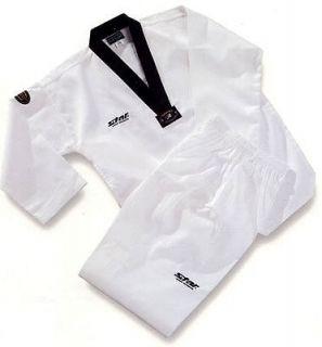 TAEKWONDO UNIFORM STAR dobok Korea DAN TAE KWON DO TKD uniforms