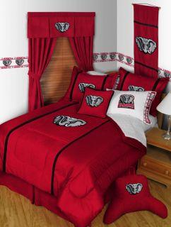 Alabama Crimson Tide Comforter & Sham Set Microsuede