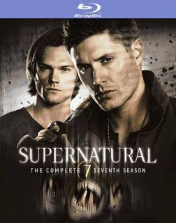 Supernatural The Complete Seventh Season Blu ray Disc, 2012, 4 Disc