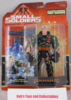 Small Soldiers Electro Charge​d Chip Hazard Action Figure MNIB