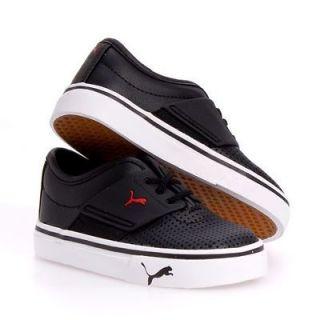 Puma El Ace Kids Leather Casual Boy/Girls Infant Baby Shoes sz 5
