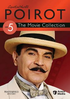 Agatha Christies Poirot The Movie Collection   Set 5 DVD, 2010, 3