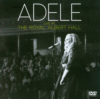 Adele Live at the Royal Albert Hall DVD, 2011, 2 Disc Set, Clean DVD