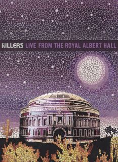 The Killers Live from the Royal Albert Hall DVD, 2009, DVD CD