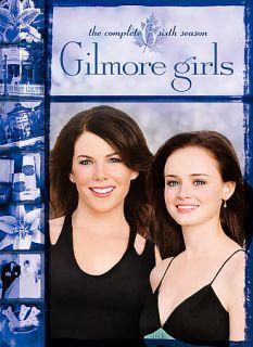 Gilmore Girls The Complete Sixth Season DVD, 2006, 6 Disc Set