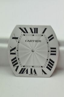 Cartier Roadster Automatic Silver Wave Pattern Dial