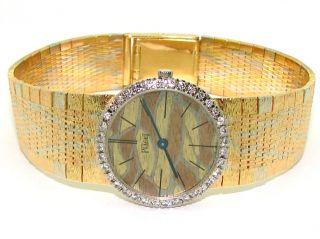 Piaget 18kt Yellow White Rose Gold Diamond Bezel Quartz 926S6 Watch