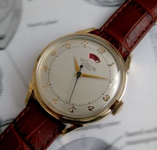 JAEGER LECOULTRE POWERMATIC 10K Gold Filled Vintage Watch 1950s