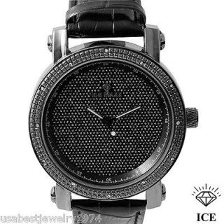 NATURAL DIAMOND QUARTZ MOVEMENT WATCH RETAIL $699.00 WITH EXTRA STRAP