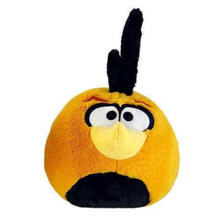Angry Birds 5 Inch MINI Plush Orange Globe Bird NORMAL with sound