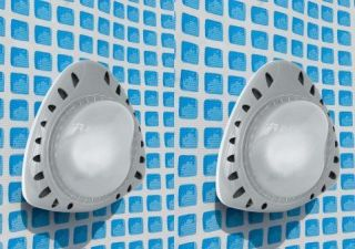 INTEX Above Ground LED Magnetic Swimming Pool Lights (Set of 2