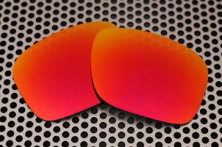 Polarized Fire Red Replacement Lenses for Oakley Holbrook Sunglasses