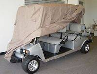 Limo 6 Passengers Golf Cart Cover, Fit EZ Go, Club Car Yamaha Cart