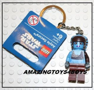 AAYLA SECURA STAR CLONE WARS LEGO MINI FIGURE KEYRING