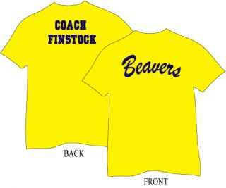 Coach Finstock Teen Wolf funny 80s movie t shirt