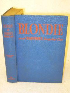 BLONDIE AND DAGWOODS SNAPSHOT CLUE (ill.) Whitman Publishing c. 1943