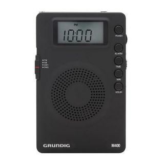 AM/FM/SW SHORTWAVE PORTABLE RADIO Analogue tuner with digital displ