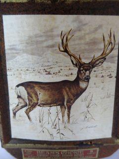 Jim Beam Beams Choice Decanter with Top   Mule Deer by James
