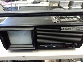 SUPRA SV 80 VM 55 VHS TV COMBO PLAYER PARTS/REPAIR