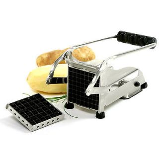 Norpro Commercial Stainless Steel Homemade French Fry Vegetable Cutter