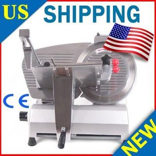 DUTY 12 ELECTRIC MEAT DELI 270W COMMERCIAL GRADE MEAT SLICER NEW b9