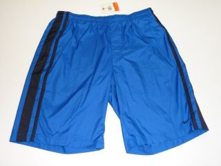 Sizes XL OR 2XL Blue & Black Built in Underwear Training Shorts NWT