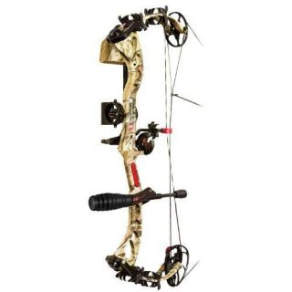 PSE Bow Madness XS RTS Package Right Hand Bow, 60 Pound, Mossy Oak