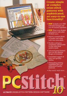 PC Stitch Pro Cross Stitch Software