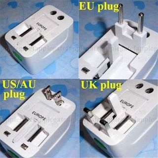 universal travel power adapter in Travel Adapters & Converters