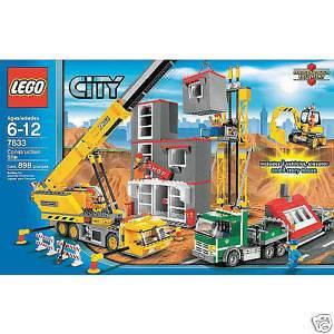 LEGO 7633 CITY CONSTRUCTION SITE SET BRAND NEW HUGE BOX RETIRED HTF
