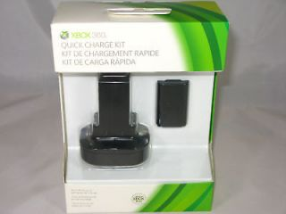 xbox 360 quick charge kit in Chargers & Docks