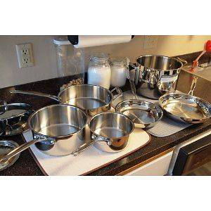 cuisinart stainless steel cookware in Cookware