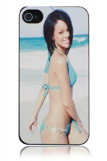 iPhone 4 4s Rihanna On The Beach Custom Design Hard Case Cover