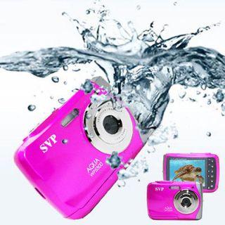 SVP Underwater 18MP Max. Pink Digital Camera + Camcorder *WaterProof