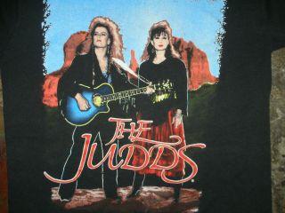 VTG 90s THE JUDDS CONCERT TOUR BAND T SHIRT COUNTRY ROCK ALABAMA