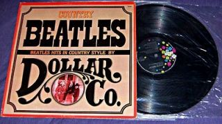 CO.   COUNTRY BEATLES Ultra Rare Covers Album Cosmic Country Rock LP
