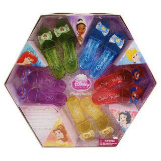 Disney Princess SHOES Costume Dress Up Play Slipper NIP