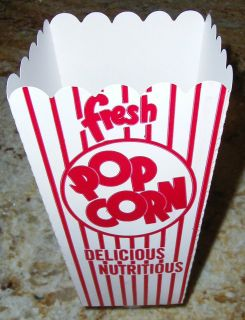 New POPCORN Snack Boxes/Tubs/Con​tainers for Parties/Home Theater