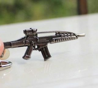 Special Gun keyring XM8 Weapon Model Assault Rifle BLACK Key Chains