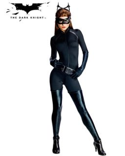Womens Sexy Batman The Dark Knight Rises Catwoman Costume