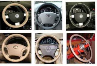 Steering Wheel Cover Wheelskins   Custom Fit You Pick the Color
