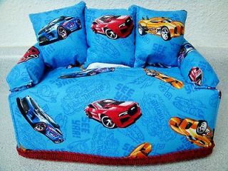 HOT WHEELS CARS TISSUE BOX COVER COUCH