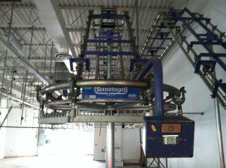 Forenta Model EV Saratoga Garment Conveyor System Dry Cleaning