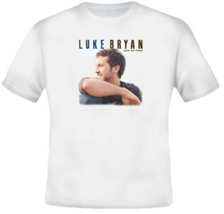Luke Bryan country music singer t shirt ALL SIZES