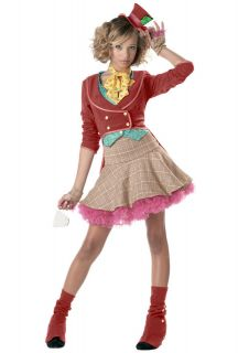 Teen 3 5 Mad Hatter Teen Costume   Alice in Wonderland Costumes