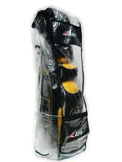 rc01 half clear golf bag rain cover waterproof raincover slight defect
